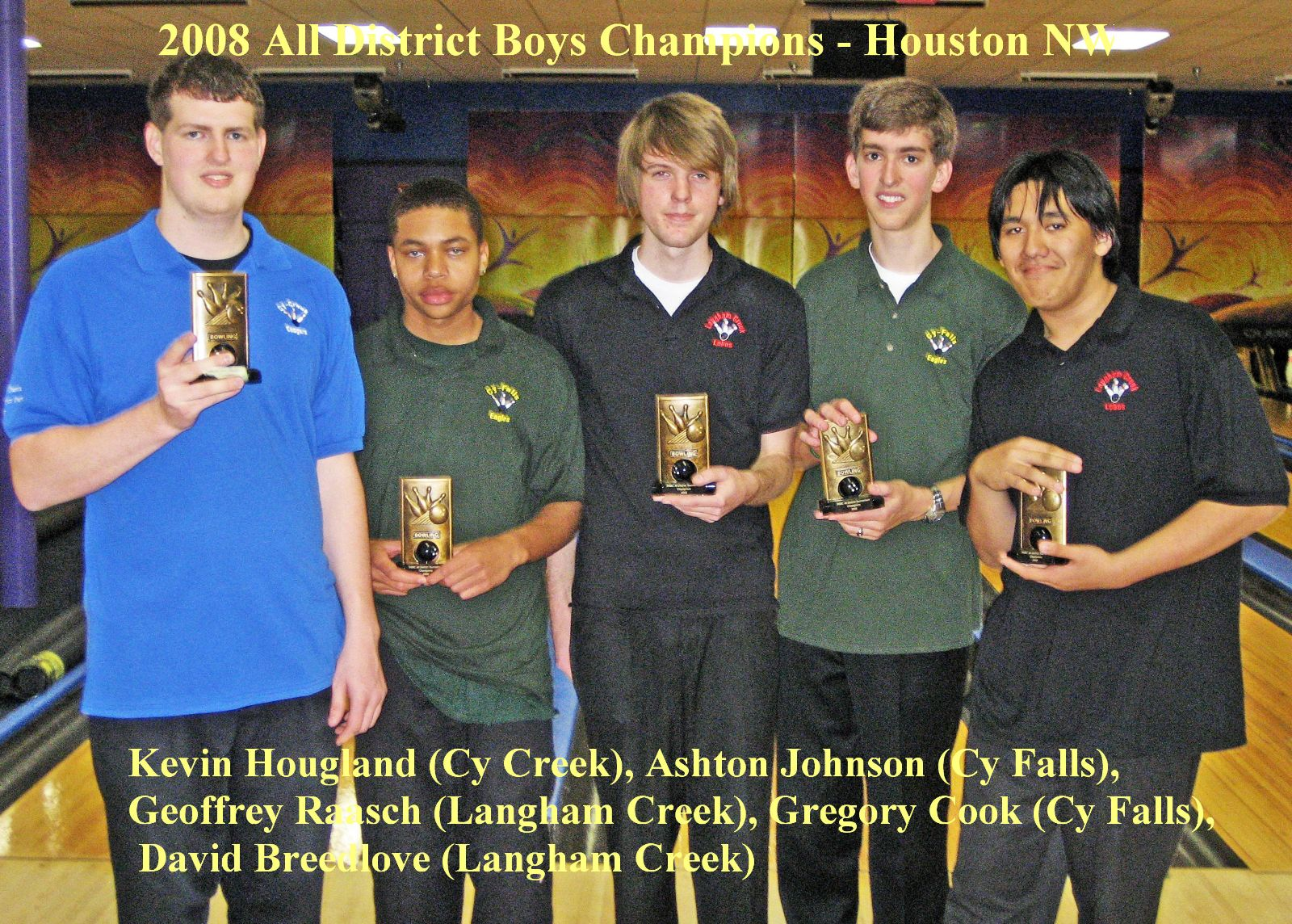 2008 Boys All District