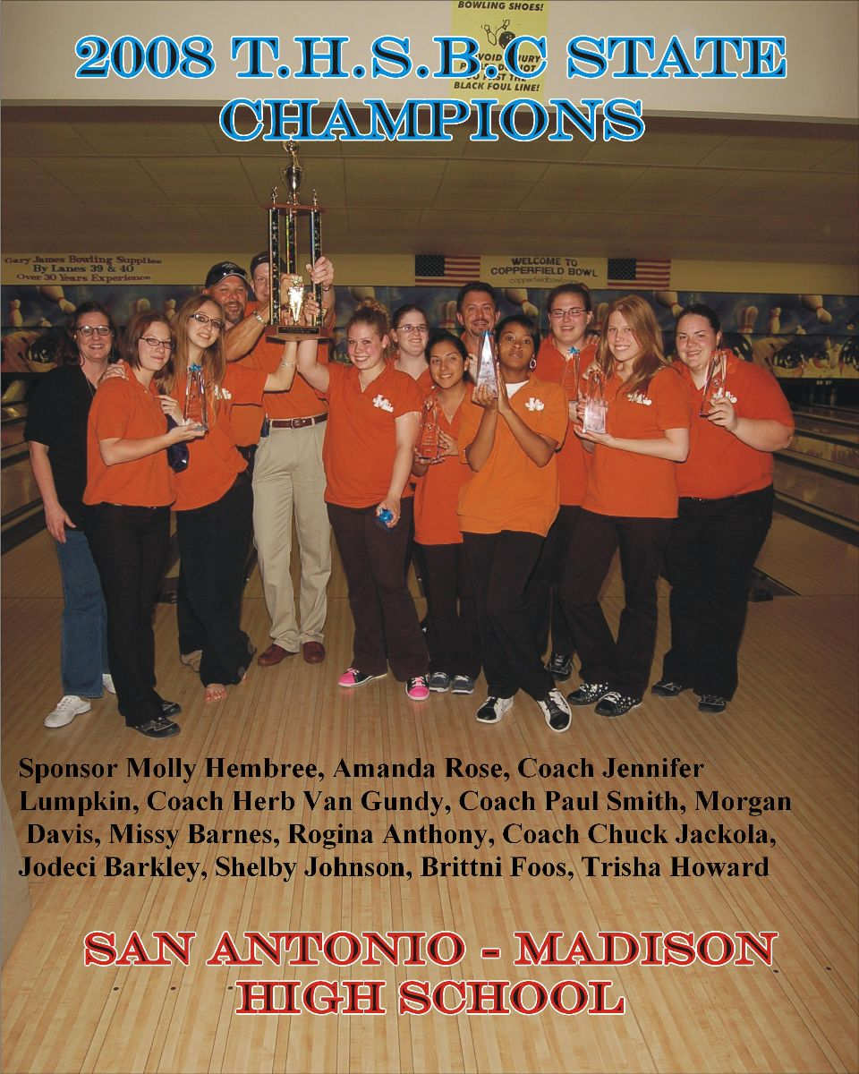 2008 Girls Team Champs