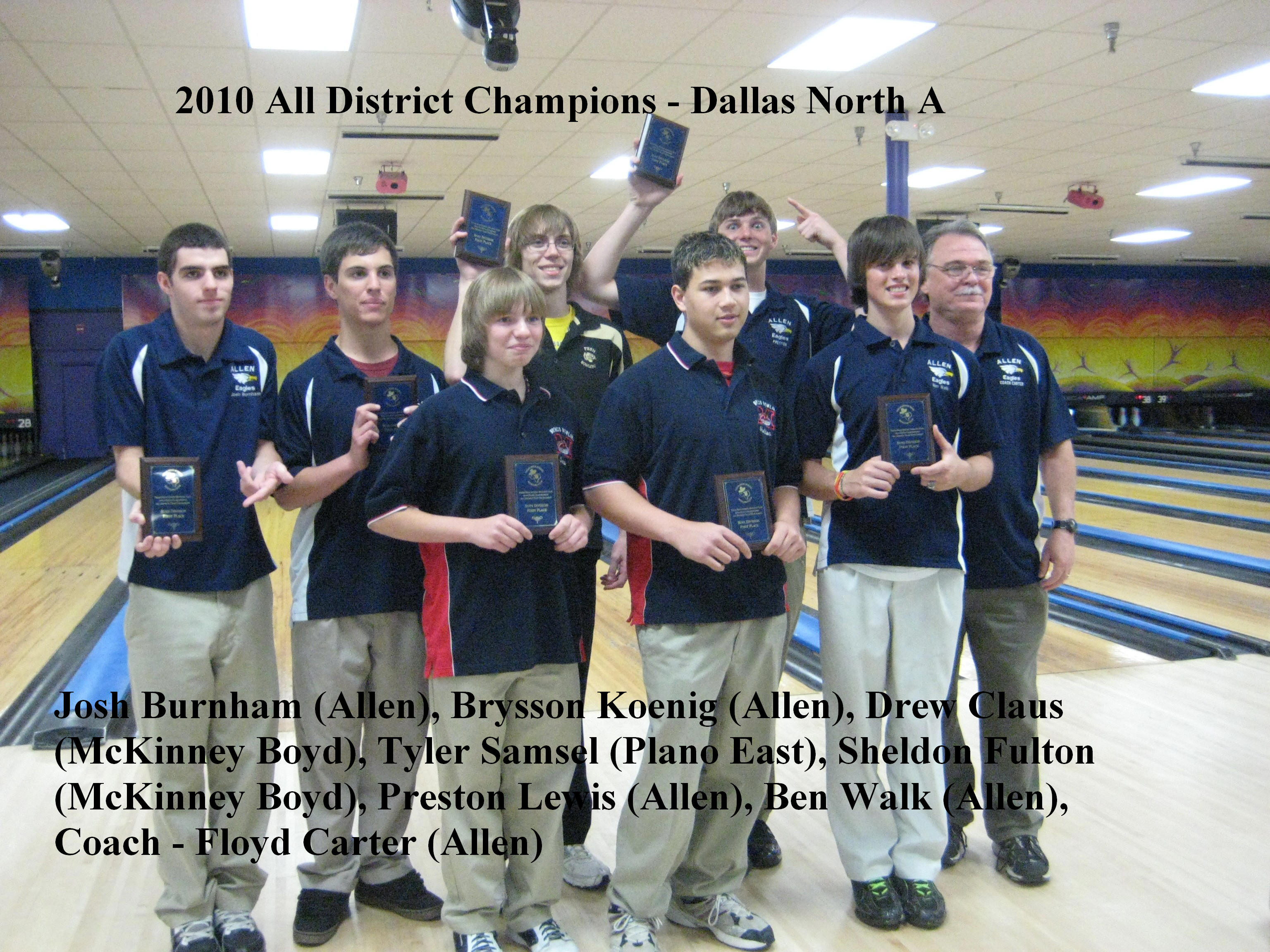 2010 Boys All District