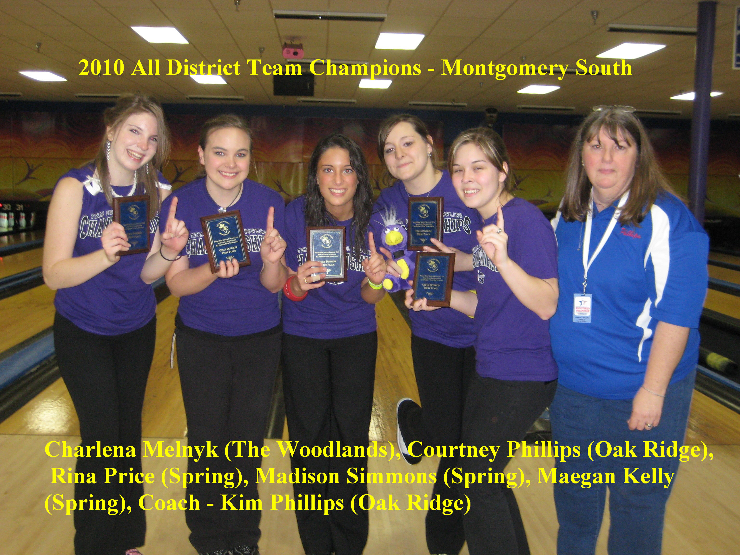 2010 Girls All District
