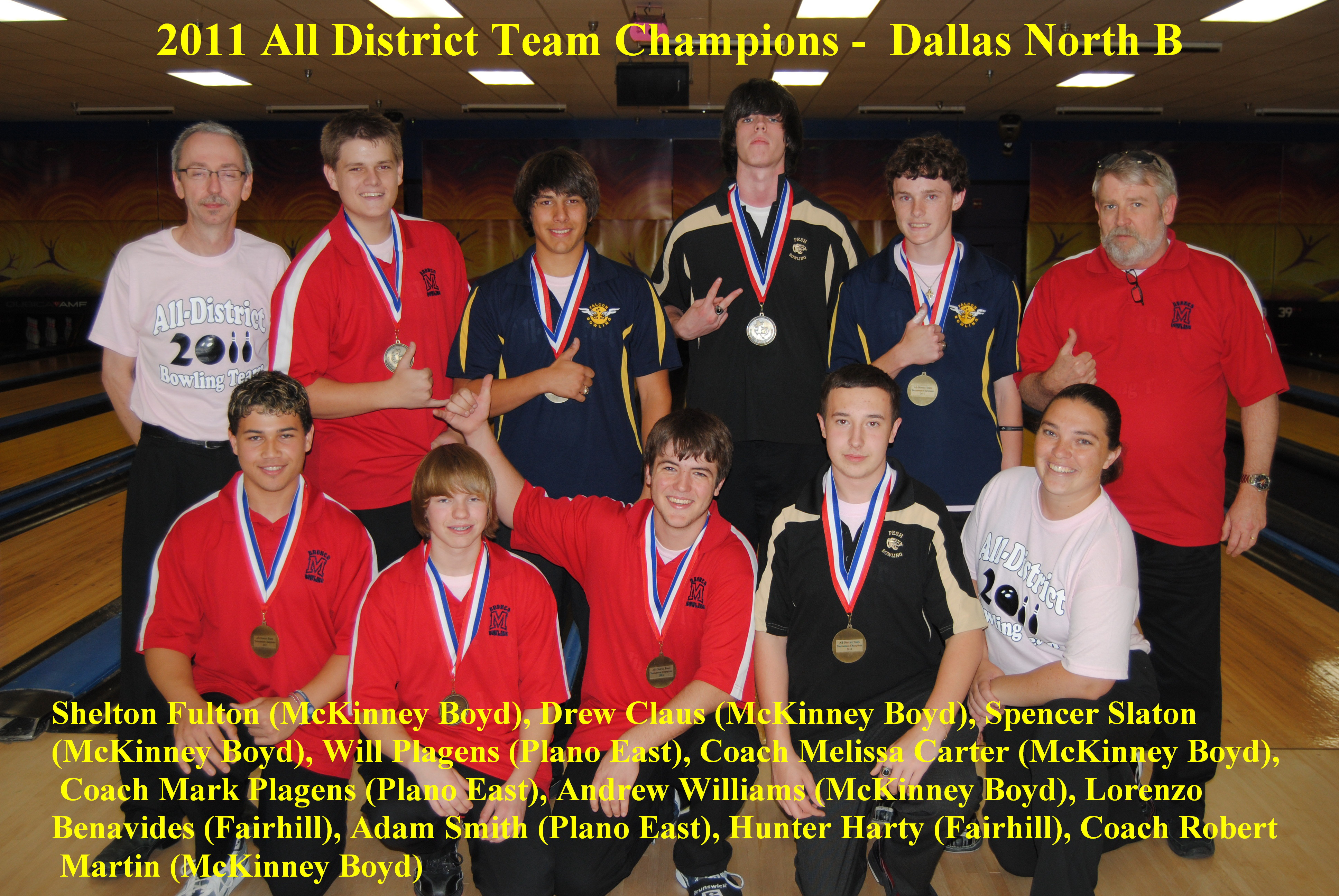 2011 Boys All District