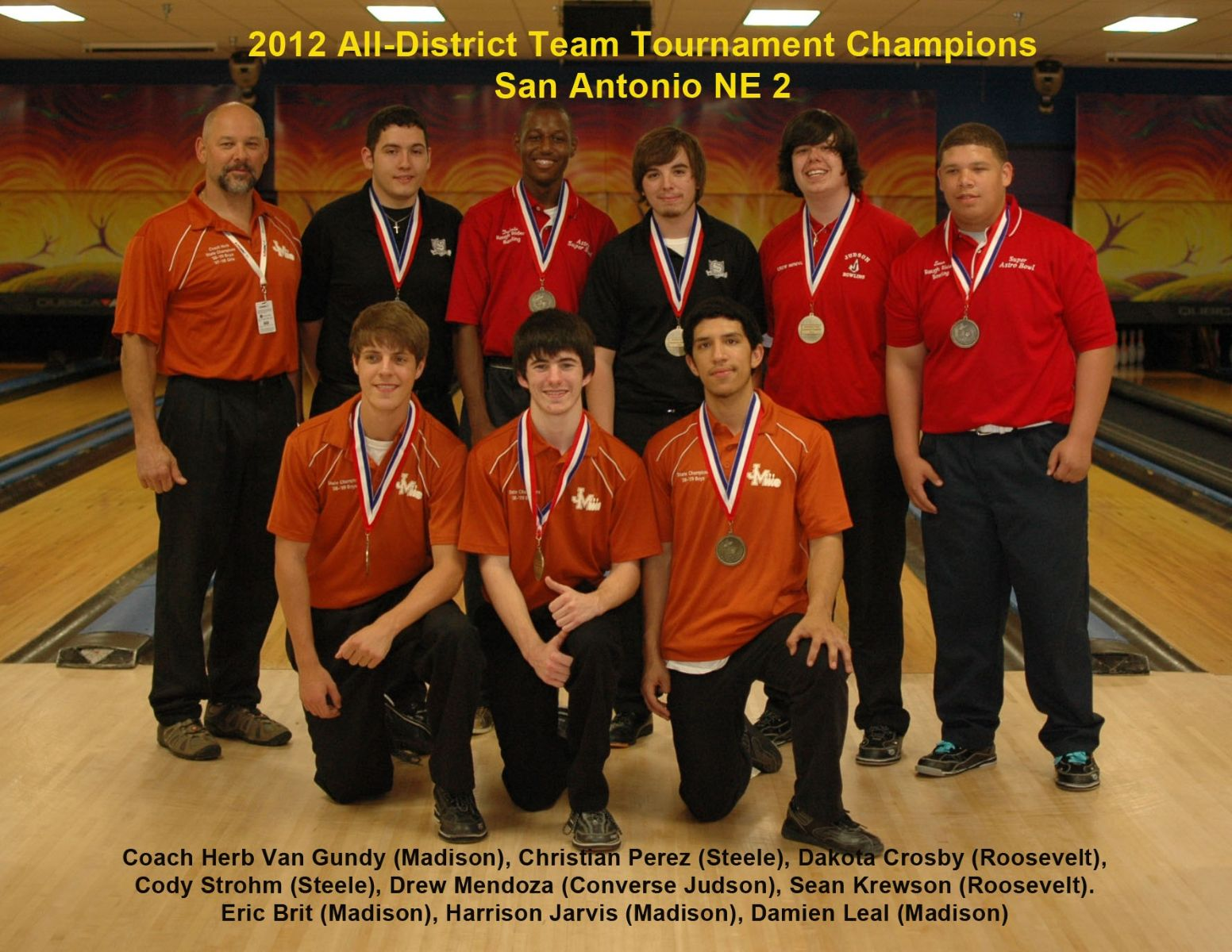 2012 Boys All District