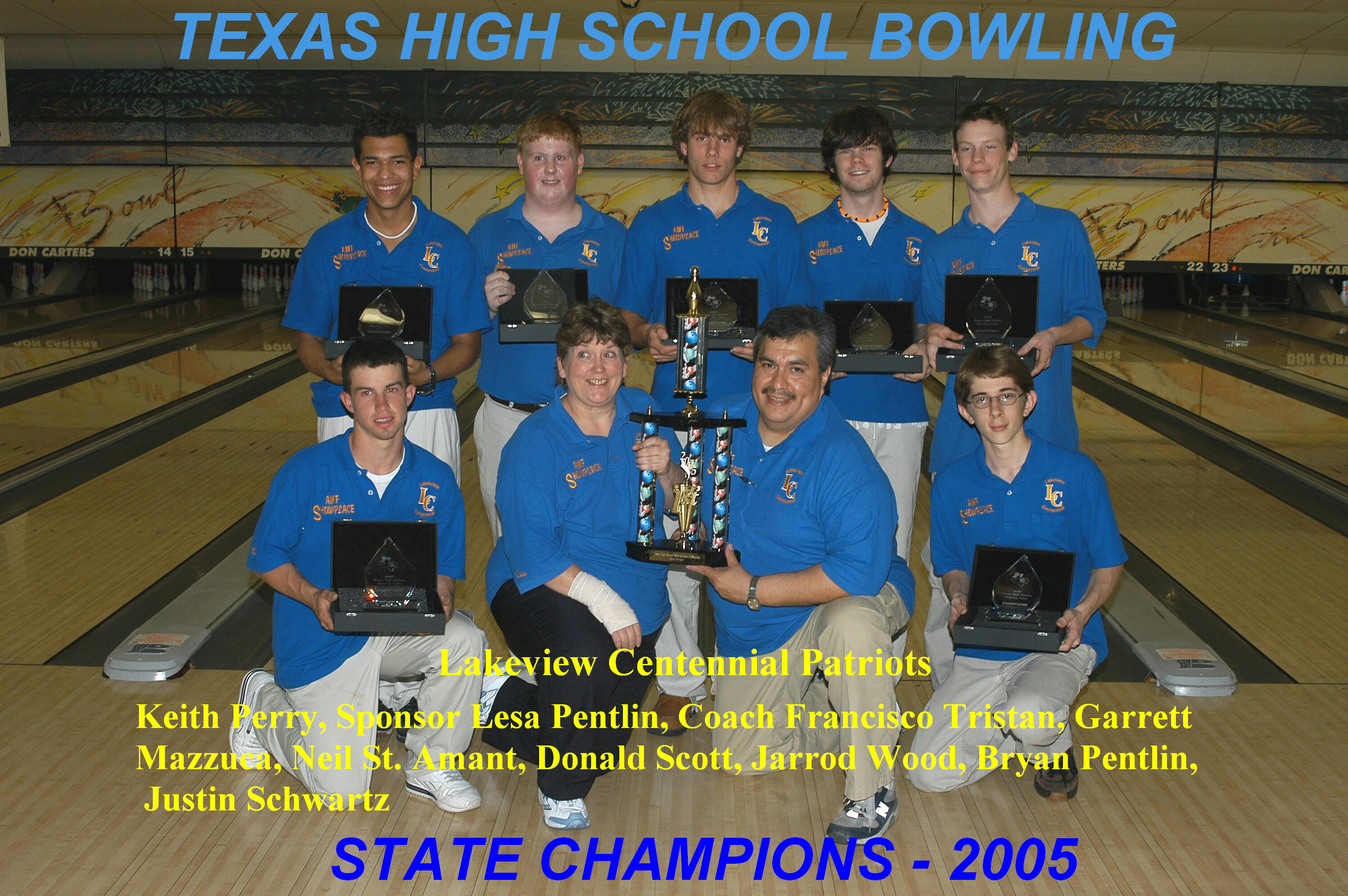 2005 Boys Team Champs