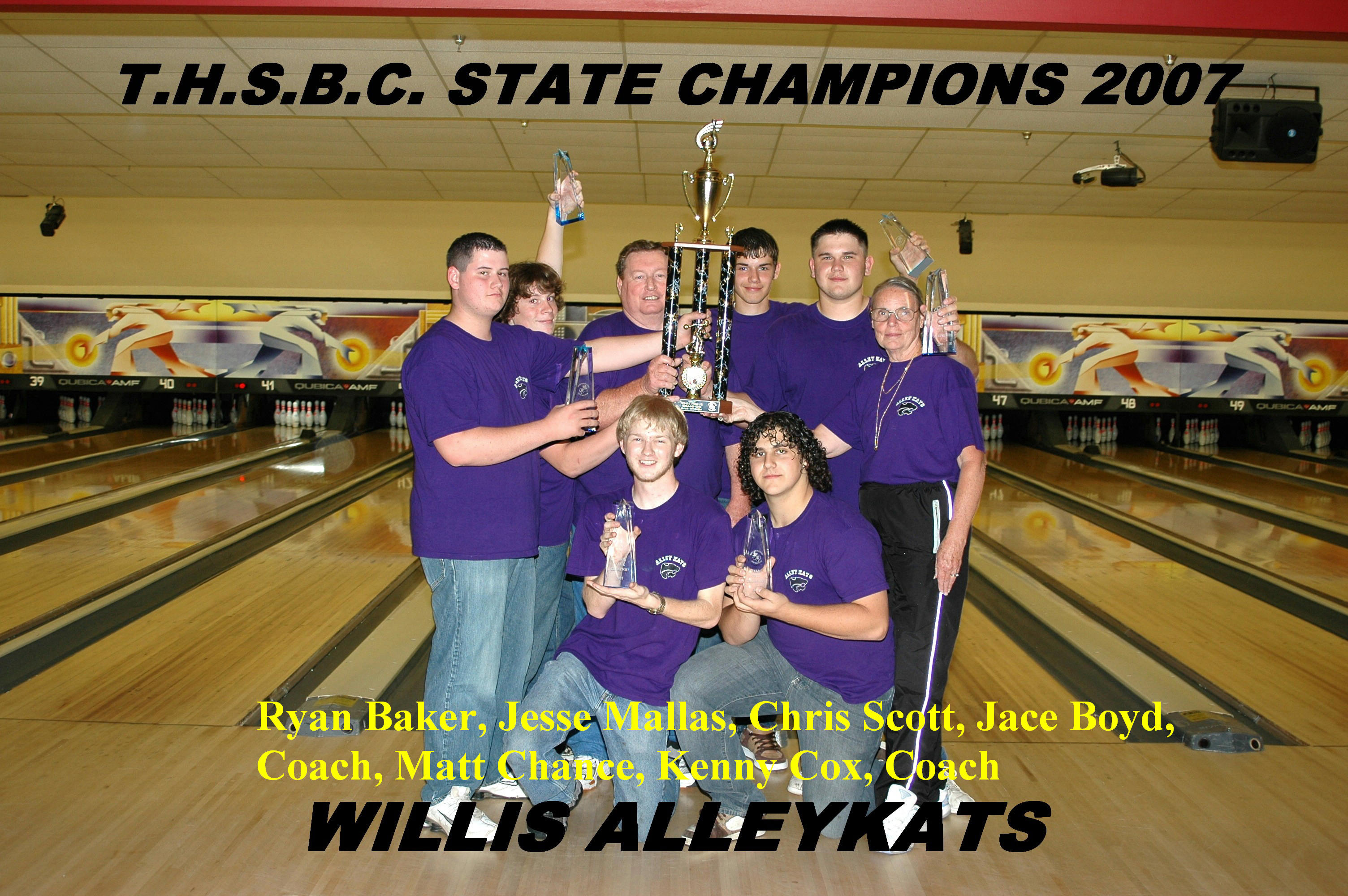 2007 Boys Team Champs