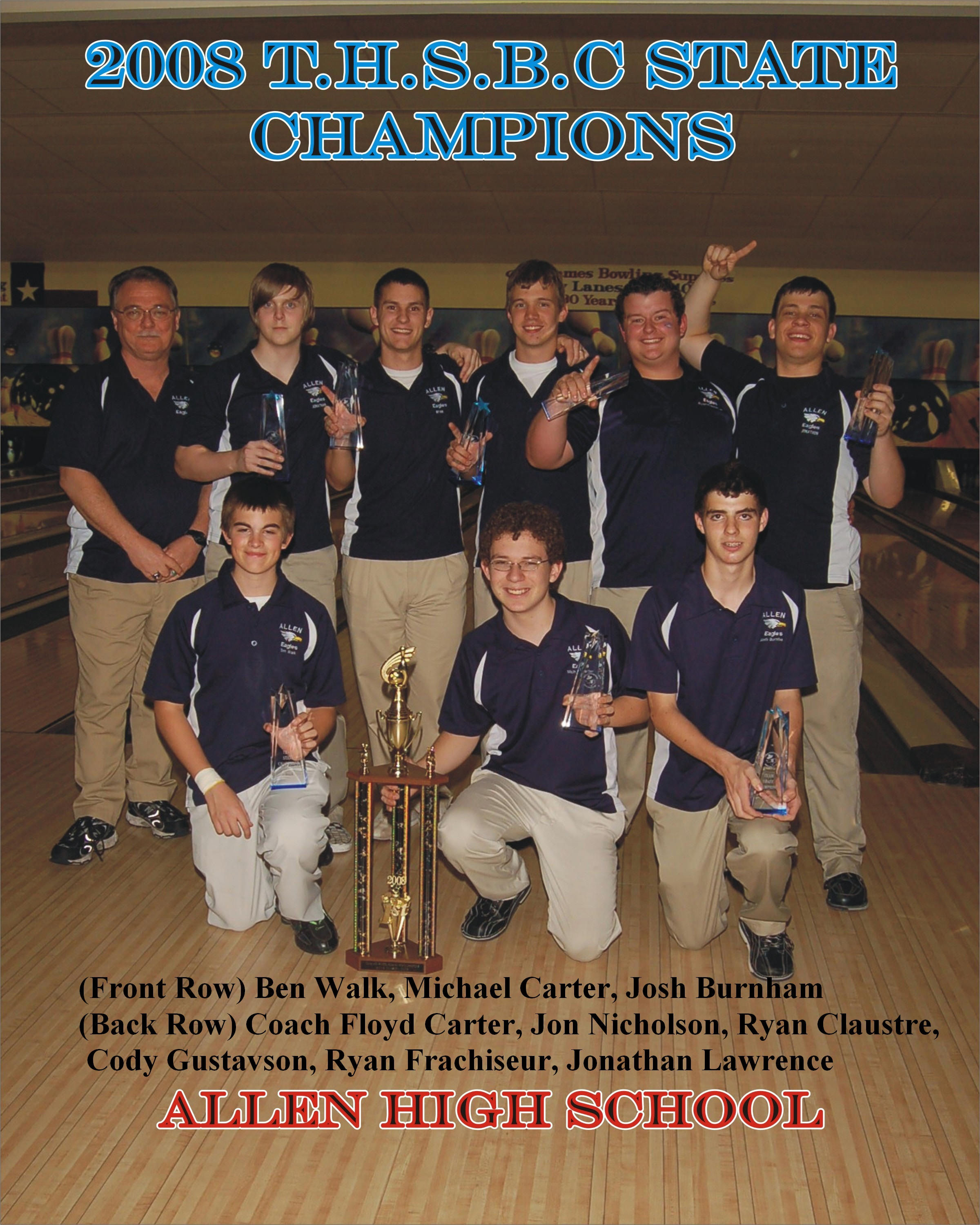 2008 Boys Team Champs