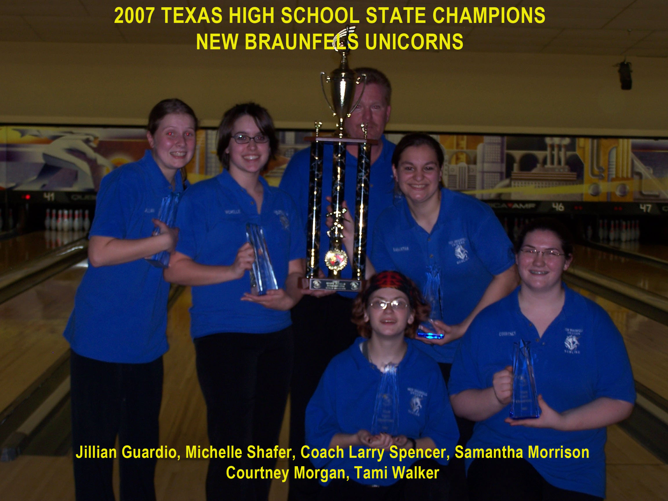 2007 Girls Team Champs